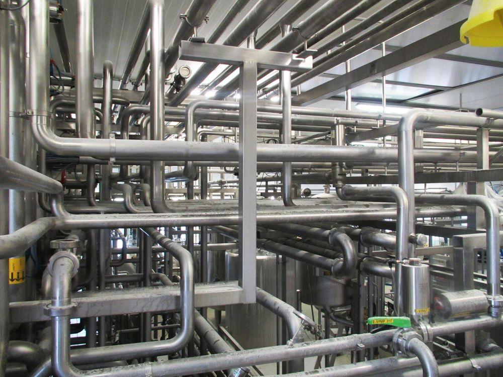 Industrieller rohrleitungsbau